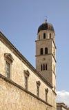 Monastero Franciscan a Dubrovnik La Croazia immagini stock libere da diritti