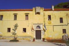Monastero Gouvernetou Immagine Stock Libera da Diritti