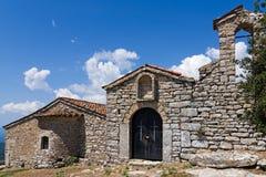 Monastero in Grecia Fotografia Stock Libera da Diritti