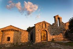 Monastero in Grecia Immagine Stock