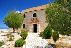 Monastero greco Fotografia Stock