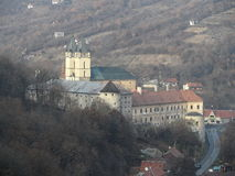 Monastero Hronsky Benadik, Slovacchia Fotografia Stock