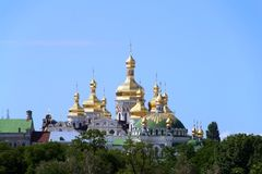 Monastero a Kiev Immagine Stock