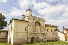 Monastero Kirillov Russia di Kirillo-Belozersky Fotografie Stock