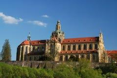 Monastero in Kladruby Fotografia Stock
