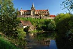 Monastero in Kladruby Fotografia Stock Libera da Diritti