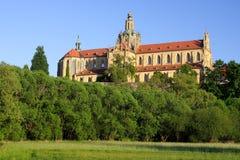 Monastero in Kladruby fotografie stock libere da diritti