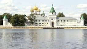 Monastero Kostroma Russia di Ipatiev della trinità santa Fotografia Stock