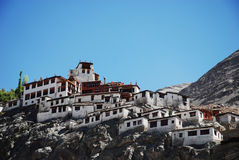 Monastero, Ladakh, India Fotografie Stock Libere da Diritti