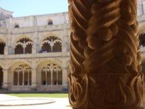 Monastero a Lisbona Immagini Stock Libere da Diritti