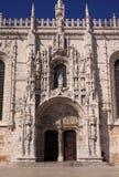 Monastero Lisbona di Jeronimos Fotografie Stock Libere da Diritti
