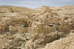 Monastero marzo di Sabas Fotografia Stock