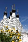 Monastero medioevale di traditonal russo Immagini Stock