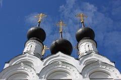 Monastero medioevale di traditonal russo Immagine Stock Libera da Diritti