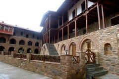 Monastero Megali Panagia, Samos, Grecia immagini stock