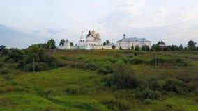Monastero in Možajsk, Russia del ` s dell'uomo di Mozhaysky Luzhetsky Ferapontov archivi video