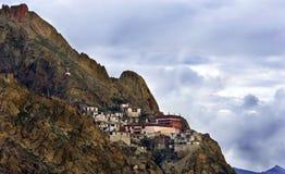 Monastero in montagne Immagini Stock