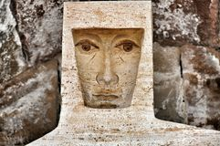 Monastero Montserrat dei dettagli e degli elementi Fotografie Stock