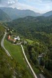 Monastero Moraca, Montenegro Fotografia Stock Libera da Diritti