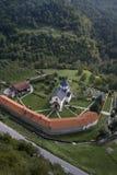 Monastero Moraca, Montenegro immagini stock libere da diritti