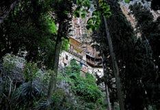 Monastero nascosto Fotografie Stock Libere da Diritti