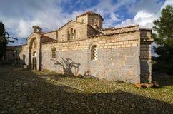 Monastero nell'Attica, Grecia di Sagmata fotografia stock libera da diritti