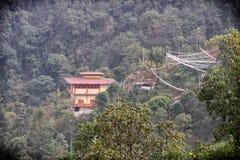 Monastero nella giungla Immagini Stock