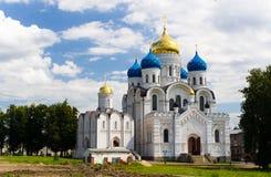 Monastero nella regione di Mosca Immagine Stock