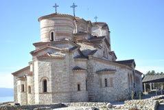 Monastero Ocrida di Plaosnik Fotografia Stock Libera da Diritti