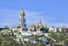Monastero ortodosso di Kiev Pechersk Lavra Immagine Stock