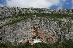 Monastero ortodosso di Ostrog Immagini Stock