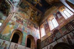 Monastero ortodosso georgiano Gelati all'interno fotografie stock