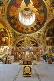 Monastero ortodosso interno Fotografia Stock
