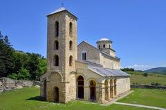 Monastero ortodosso serbo Sopocani Fotografie Stock