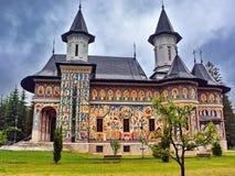 Monastero Romania di Neamt Immagine Stock