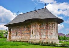 Monastero Romania di umore fotografie stock libere da diritti