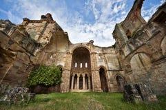 Monastero in rovine Fotografie Stock
