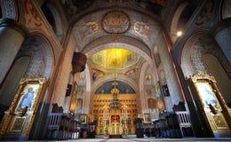 Monastero rumeno Immagini Stock Libere da Diritti