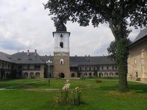 Monastero rumeno Immagine Stock Libera da Diritti