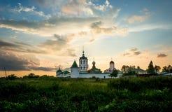 Monastero russo Fotografia Stock Libera da Diritti