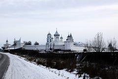 Monastero russo antico Immagini Stock