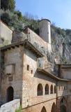 Monastero s Benedetto в Subiaco, Италии Стоковая Фотография