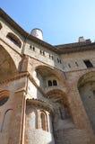 Monastero S Benedetto in Subiaco, Italia Fotografia Stock