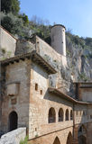 Monastero S. Benedetto in Subiaco, Italy Stock Photography