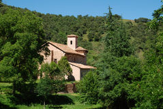 Monastero San Millan de Suso immagine stock