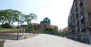 Monastero Sant Pau del Camp Fotografia Stock Libera da Diritti