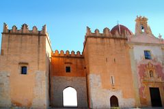 Monastero Spagna della Santa Maria de la Valldigna Simat Immagini Stock Libere da Diritti