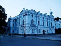 Monastero St Petersburg del convento di Smolniy immagini stock