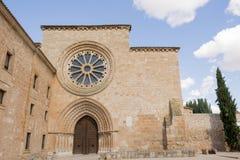 Monastero Sta Maria de Huerta, Soria, Spagna Fotografia Stock Libera da Diritti