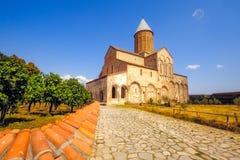 Monastero storico nella regione di Kakheti, Georgia di Alaverdi Immagini Stock Libere da Diritti